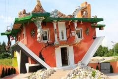 Ανάποδο σπίτι στο Τύρολο, Αυστρία Στοκ φωτογραφία με δικαίωμα ελεύθερης χρήσης
