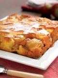 Ανάποδο κέικ μήλων Στοκ Εικόνα