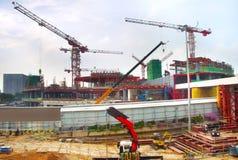 Ανάπτυξη αερολιμένων, Σιγκαπούρη Στοκ Φωτογραφίες