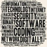 Ανάπτυξη λογισμικού Λέξεις σύννεφων Στοκ εικόνα με δικαίωμα ελεύθερης χρήσης