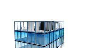 Ανάπτυξη οικοδόμησης ατελείωτος Περιτυλιγμένη ζωτικότητα HD 1080 ελεύθερη απεικόνιση δικαιώματος