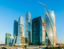 Ανάπτυξη της Μόσχα-πόλης Στοκ Εικόνα