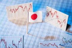 Ανάπτυξη της οικονομίας στην Ιαπωνία Στοκ Φωτογραφία