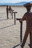 Ανάπτυξη των σταφυλιών στα λιβάδια Galleta Στοκ φωτογραφίες με δικαίωμα ελεύθερης χρήσης