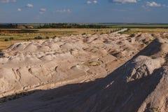 Ανάχωμα άμμου Στοκ εικόνες με δικαίωμα ελεύθερης χρήσης