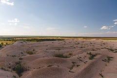 Ανάχωμα άμμου Στοκ Εικόνες