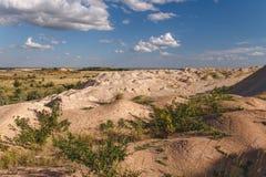 Ανάχωμα άμμου Στοκ Φωτογραφίες
