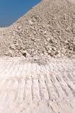 ανάχωμα αμμοχάλικου Στοκ φωτογραφία με δικαίωμα ελεύθερης χρήσης