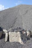 ανάχωμα αμμοχάλικου Στοκ Φωτογραφίες