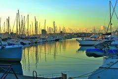 Ανάχωμα Βικτώριας Yachtmole αστικό Στοκ Φωτογραφίες
