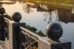 Ανάχωμα βραδιού στο πάρκο Στοκ Εικόνα