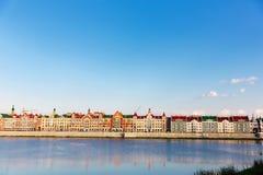 Ανάχωμα Μπρυζ Yoshkar-Ola, Ρωσία Στοκ Εικόνες