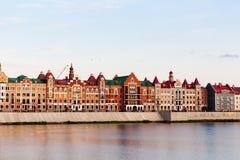 Ανάχωμα Μπρυζ Yoshkar-Ola, Ρωσία Στοκ εικόνα με δικαίωμα ελεύθερης χρήσης