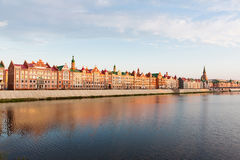 Ανάχωμα Μπρυζ Yoshkar-Ola, Ρωσία Στοκ φωτογραφία με δικαίωμα ελεύθερης χρήσης