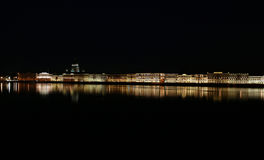 ανάχωμα Πετρούπολη ST Στοκ Φωτογραφίες