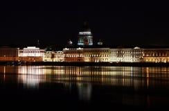 ανάχωμα Πετρούπολη ST Στοκ Φωτογραφία