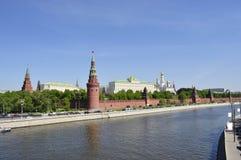 Ανάχωμα του Κρεμλίνου Στοκ Εικόνες
