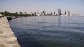 Ανάχωμα του Μπακού, Αζερμπαϊτζάν Η Κασπία Θάλασσα και οι ουρανοξύστες φιλμ μικρού μήκους