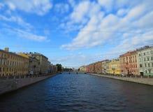 Ανάχωμα Fontanka Στοκ φωτογραφίες με δικαίωμα ελεύθερης χρήσης