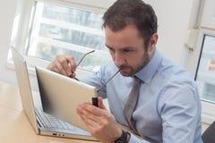 Ανάλυση επιχειρηματιών Στοκ Φωτογραφία
