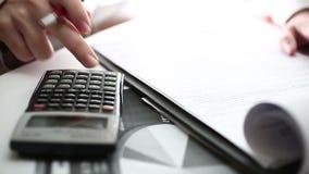 Ανάλυση των οικονομικών στοιχείων HD απόθεμα βίντεο