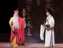 """Ανάλυση των πλεονεκτημάτων και των μειονεκτημάτων - το δεύτερο πράξη-Kunqu Opera""""Madame άσπρο Snake† Στοκ Εικόνα"""