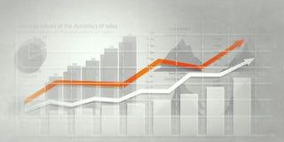Ανάλυση των στοιχείων πωλήσεων Μικτά μέσα Στοκ εικόνα με δικαίωμα ελεύθερης χρήσης