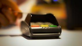 Ανέπαφη πιστωτική κάρτα απόθεμα βίντεο