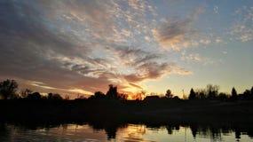 Ανήσυχος ουρανός στοκ φωτογραφία