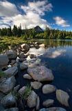 ανίχνευση λιμνών Στοκ Εικόνες