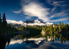 ανίχνευση λιμνών Στοκ εικόνα με δικαίωμα ελεύθερης χρήσης