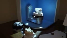 Ανίχνευση της εντύπωσης των δοντιών για την περαιτέρω εκτύπωση στον εκτυπωτή απόθεμα βίντεο