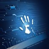 ανίχνευση χεριών απεικόνιση αποθεμάτων