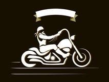 Αναβάτης μοτοσικλετών Στοκ Φωτογραφία