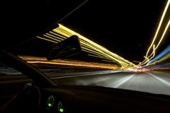 αναβάτης νύχτας Στοκ εικόνα με δικαίωμα ελεύθερης χρήσης