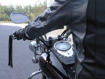 αναβάτης 2 μοτοσικλετών Στοκ Εικόνες