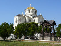 αναβιωμένος ναός καταστρ&o Στοκ Εικόνα