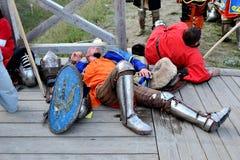 Αναβολή μεταξύ των μαχών Στοκ Εικόνες