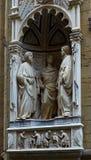 Αναγέννηση Orsanmihele Φλωρεντία εκκλησιών Στοκ Εικόνα
