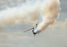 αναγκαστική προσγείωση Στοκ εικόνα με δικαίωμα ελεύθερης χρήσης