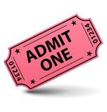 αναγνωρίστε ένα εισιτήρι&omicron Στοκ φωτογραφία με δικαίωμα ελεύθερης χρήσης