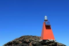 αναγνωριστικό σήμα ηλιακό Στοκ Εικόνα