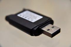 αναγνώστης μνήμης καρτών στοκ φωτογραφία με δικαίωμα ελεύθερης χρήσης