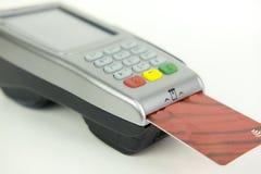 Αναγνώστης πιστωτικών καρτών Στοκ Φωτογραφία