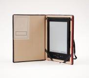 Αναγνώστης EBook σε μια περίπτωση Στοκ Εικόνες