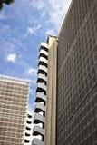 Αναδιάρθρωση ενός κτιρίου γραφείων στοκ εικόνες