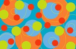 αναδρομικά δαχτυλίδια τ&rho διανυσματική απεικόνιση