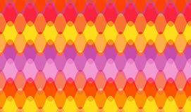 αναδρομικά κύματα σμέουρων αλυσίδων ελεύθερη απεικόνιση δικαιώματος