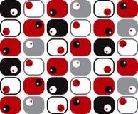 αναδρομικά μαλακά τετράγωνα σημείων Στοκ φωτογραφία με δικαίωμα ελεύθερης χρήσης