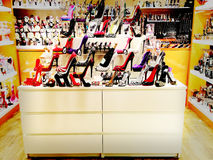 Αναδρομικά παπούτσια Στοκ Εικόνα